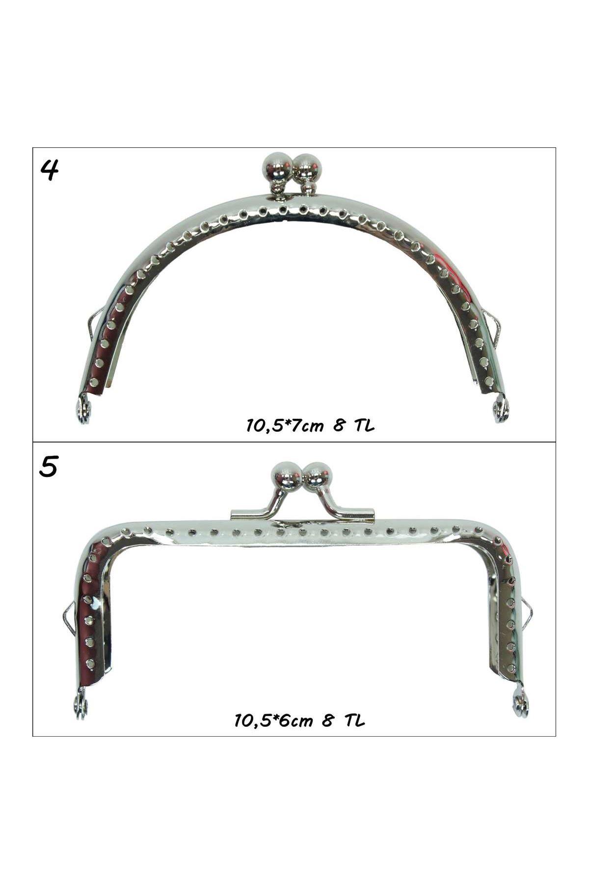 Metal Çanta Klipsleri