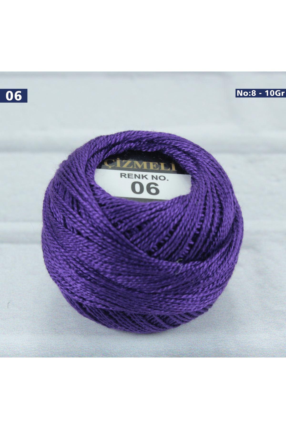 Çizmeli Cotton Perle Nakış İpliği No: 006