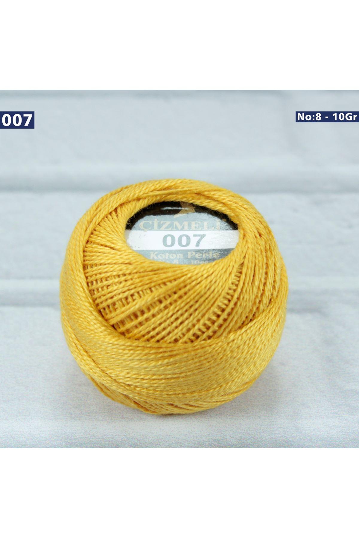 Çizmeli Cotton Perle Nakış İpliği No: 007