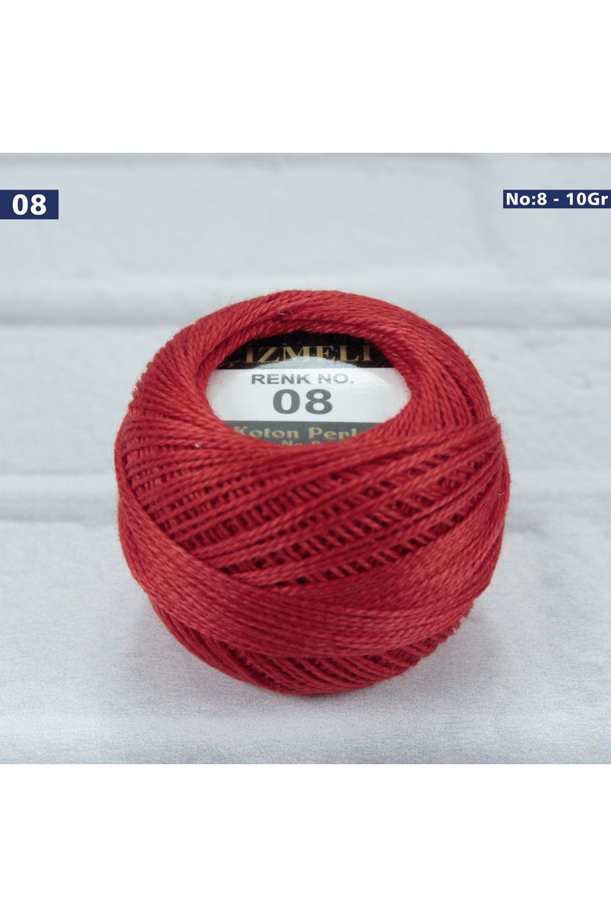 Çizmeli Cotton Perle Nakış İpliği No: 008