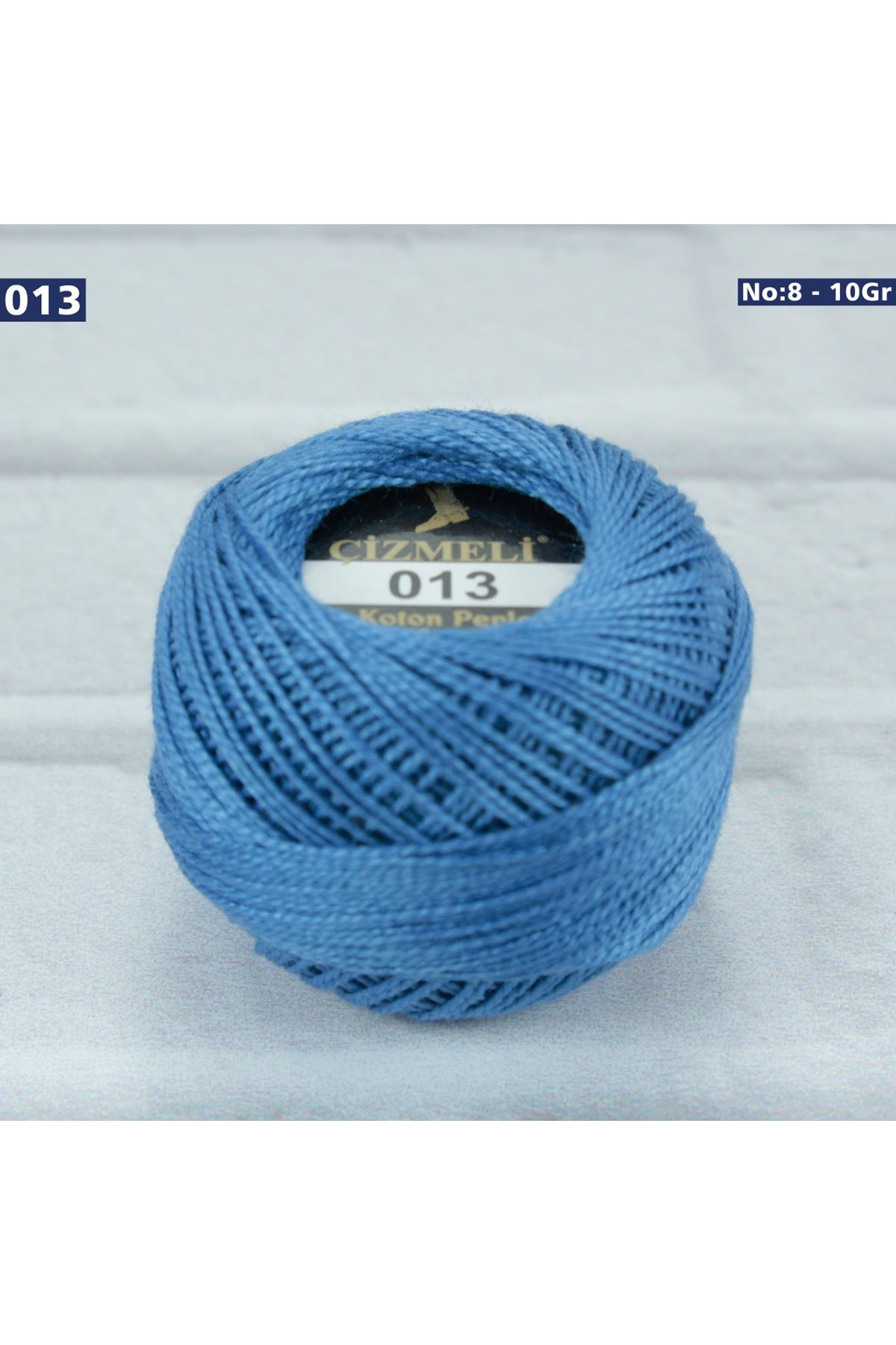 Çizmeli Cotton Perle Nakış İpliği No: 013