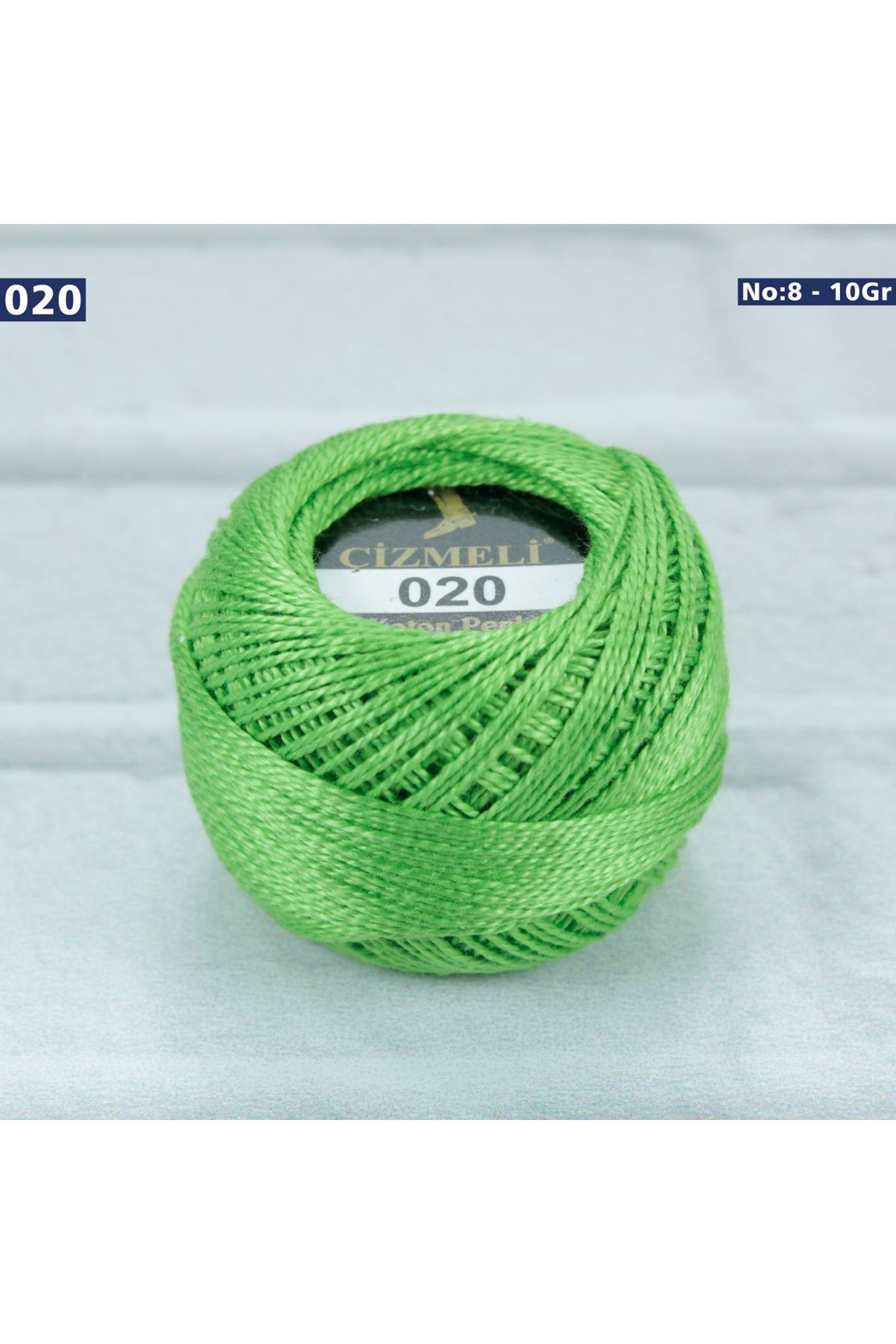 Çizmeli Cotton Perle Nakış İpliği No: 020