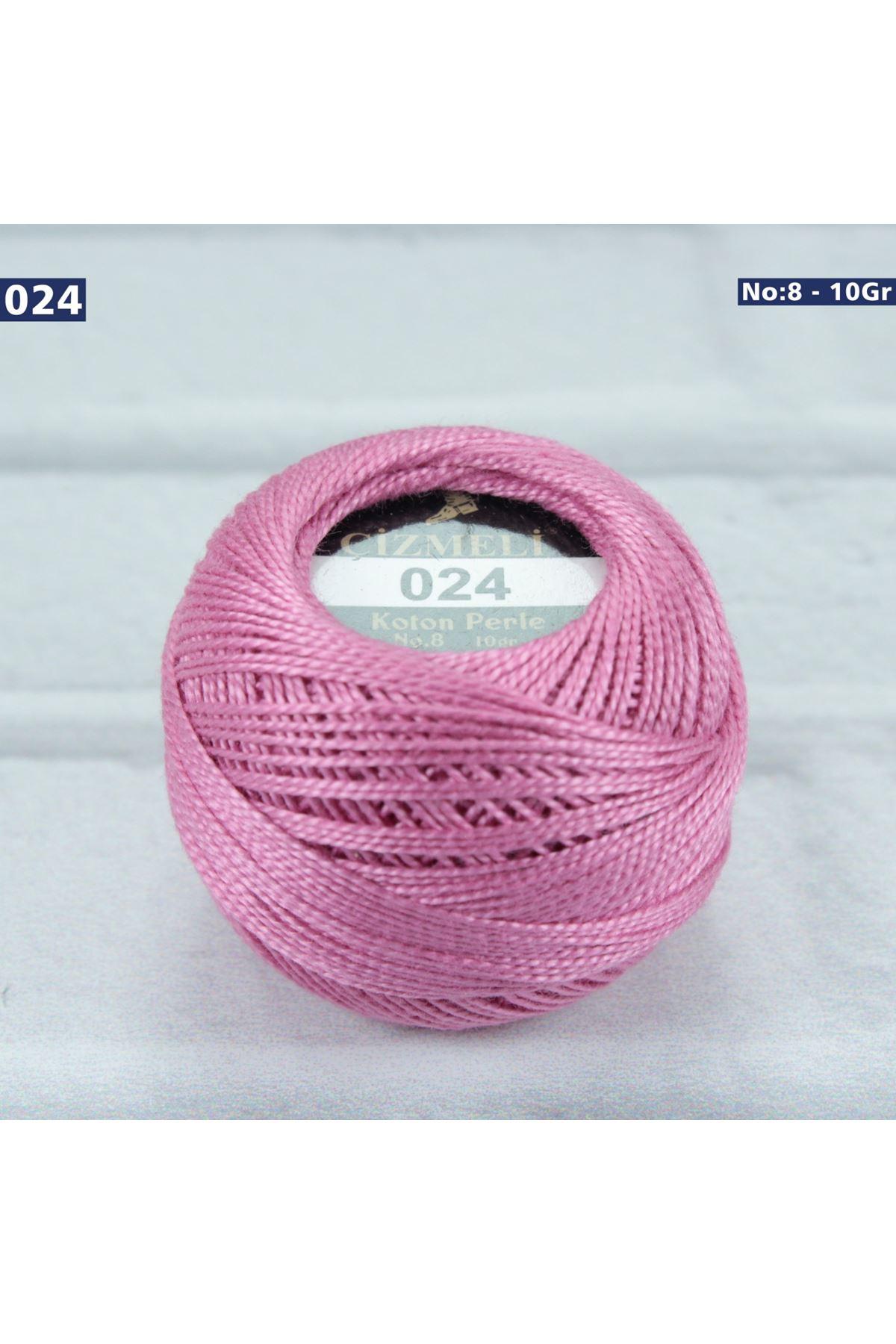 Çizmeli Cotton Perle Nakış İpliği No: 024
