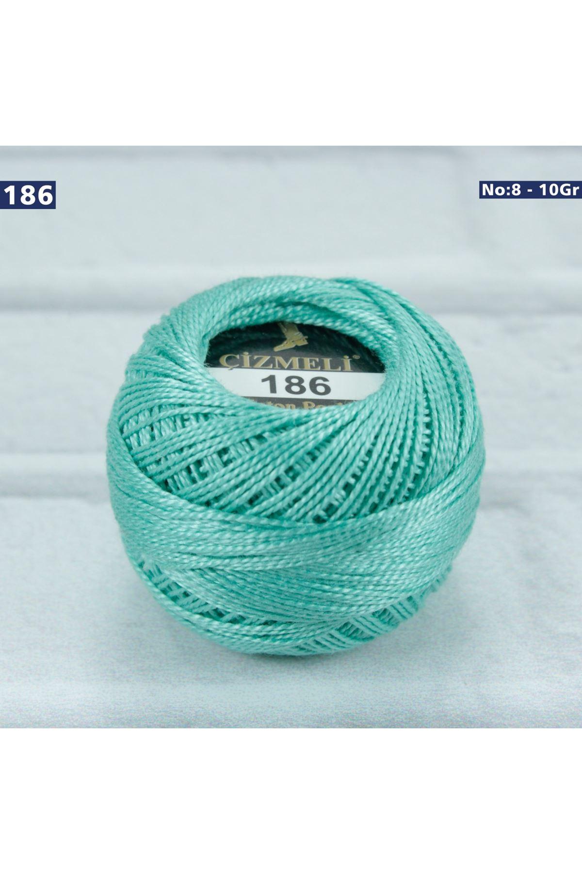 Çizmeli Cotton Perle Nakış İpliği No: 186