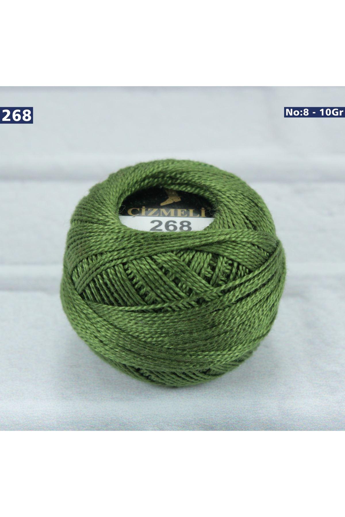 Çizmeli Cotton Perle Nakış İpliği No: 268
