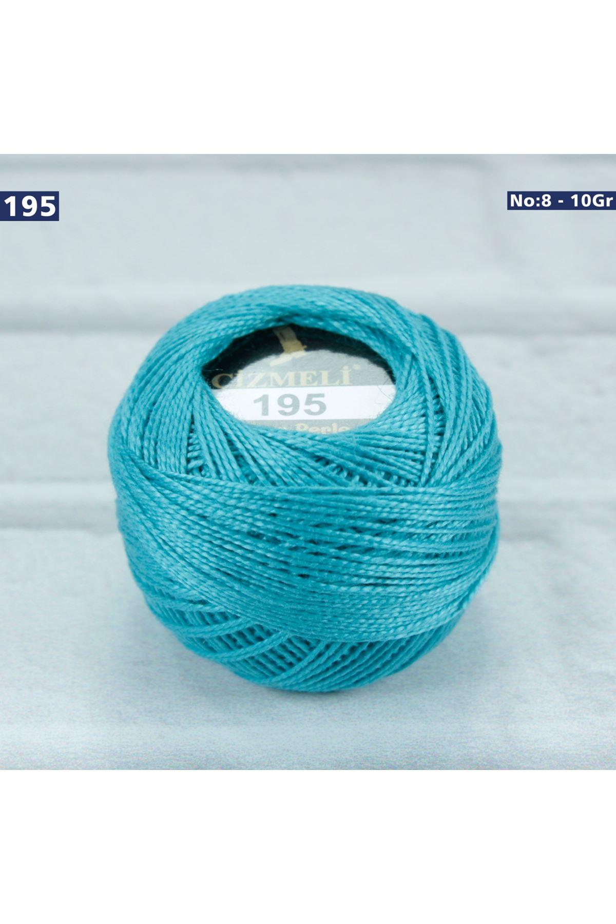 Çizmeli Cotton Perle Nakış İpliği No: 195