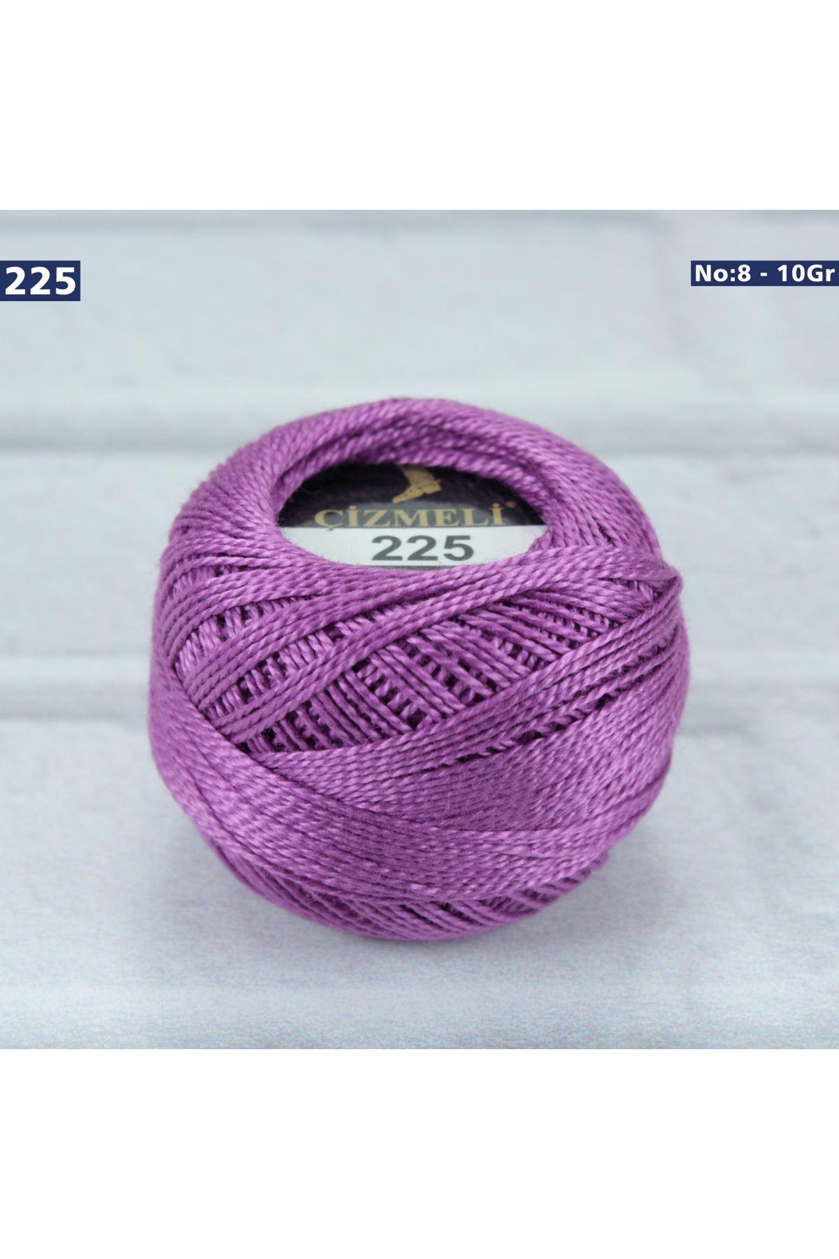 Çizmeli Cotton Perle Nakış İpliği No: 225