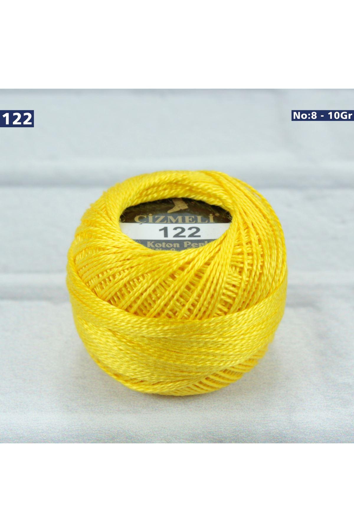Çizmeli Cotton Perle Nakış İpliği No: 122