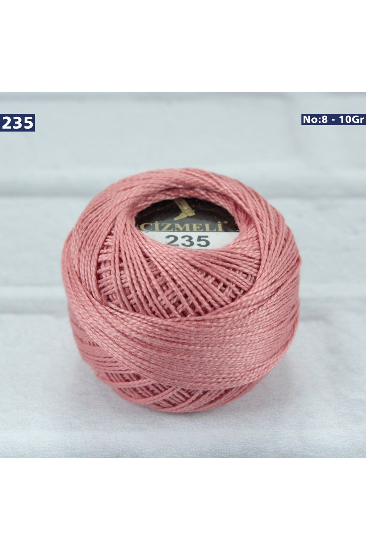 Çizmeli Cotton Perle Nakış İpliği No: 235