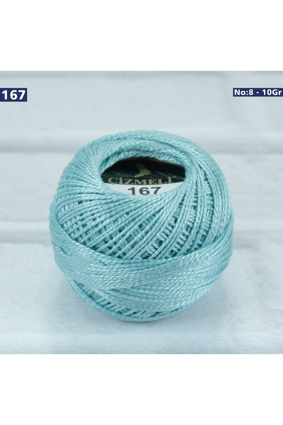 Çizmeli Cotton Perle Nakış İpliği No: 167