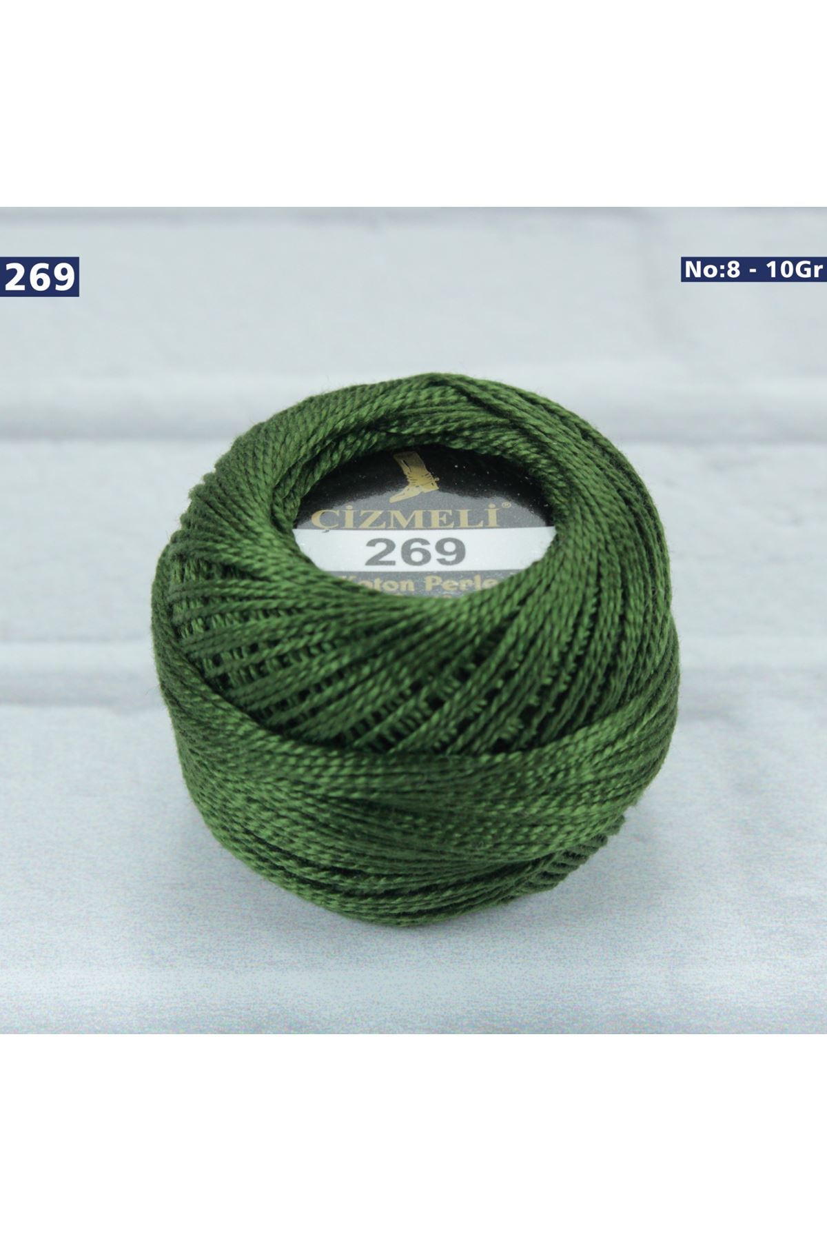 Çizmeli Cotton Perle Nakış İpliği No: 269