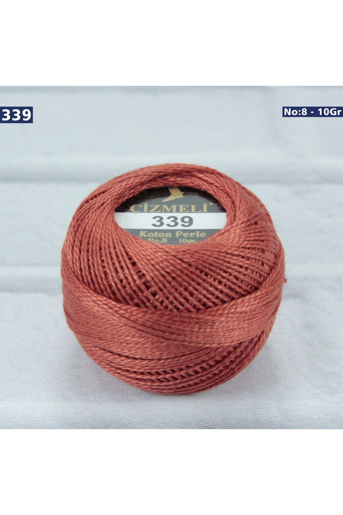 Çizmeli Cotton Perle Nakış İpliği No: 339