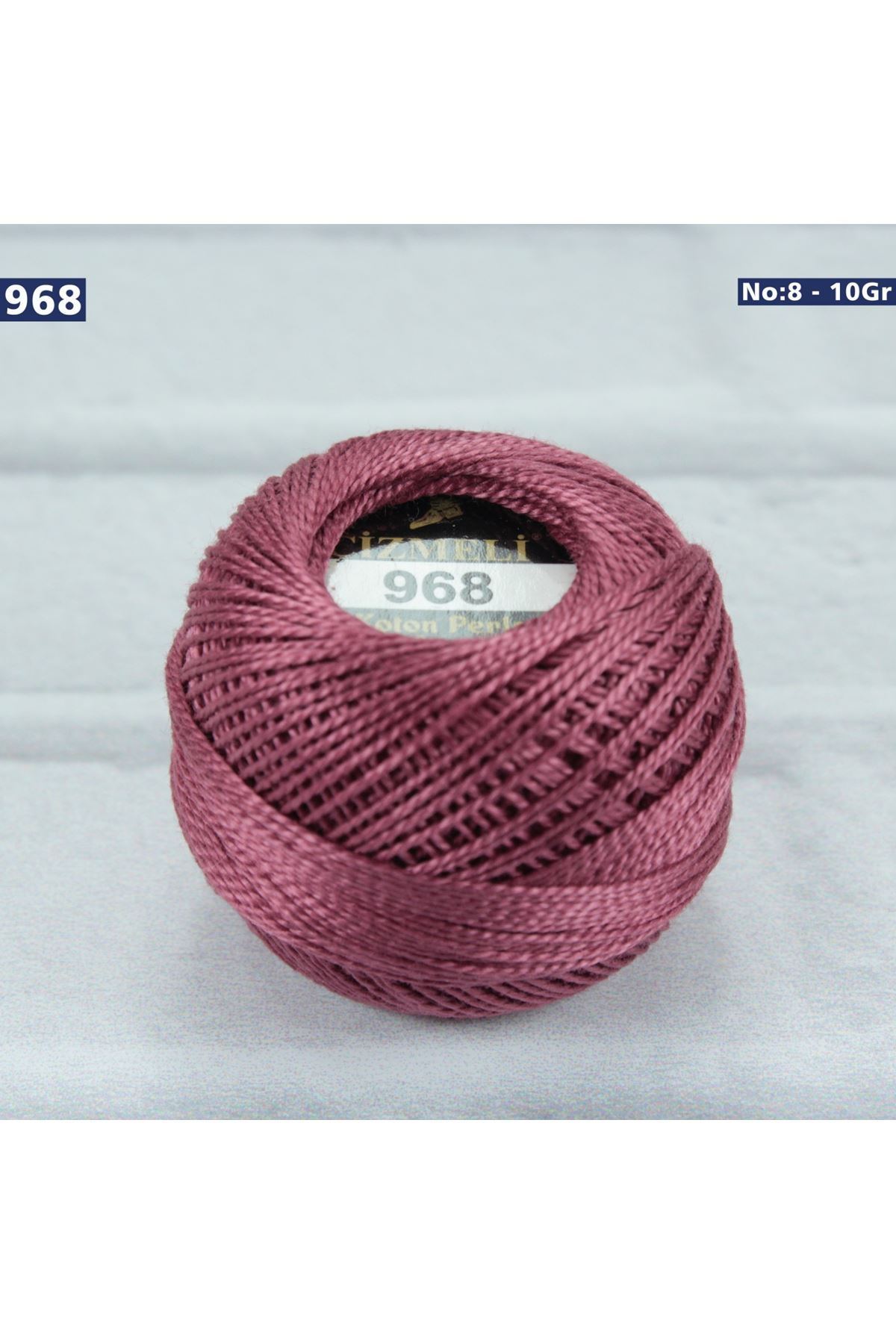 Çizmeli Cotton Perle Nakış İpliği No: 968