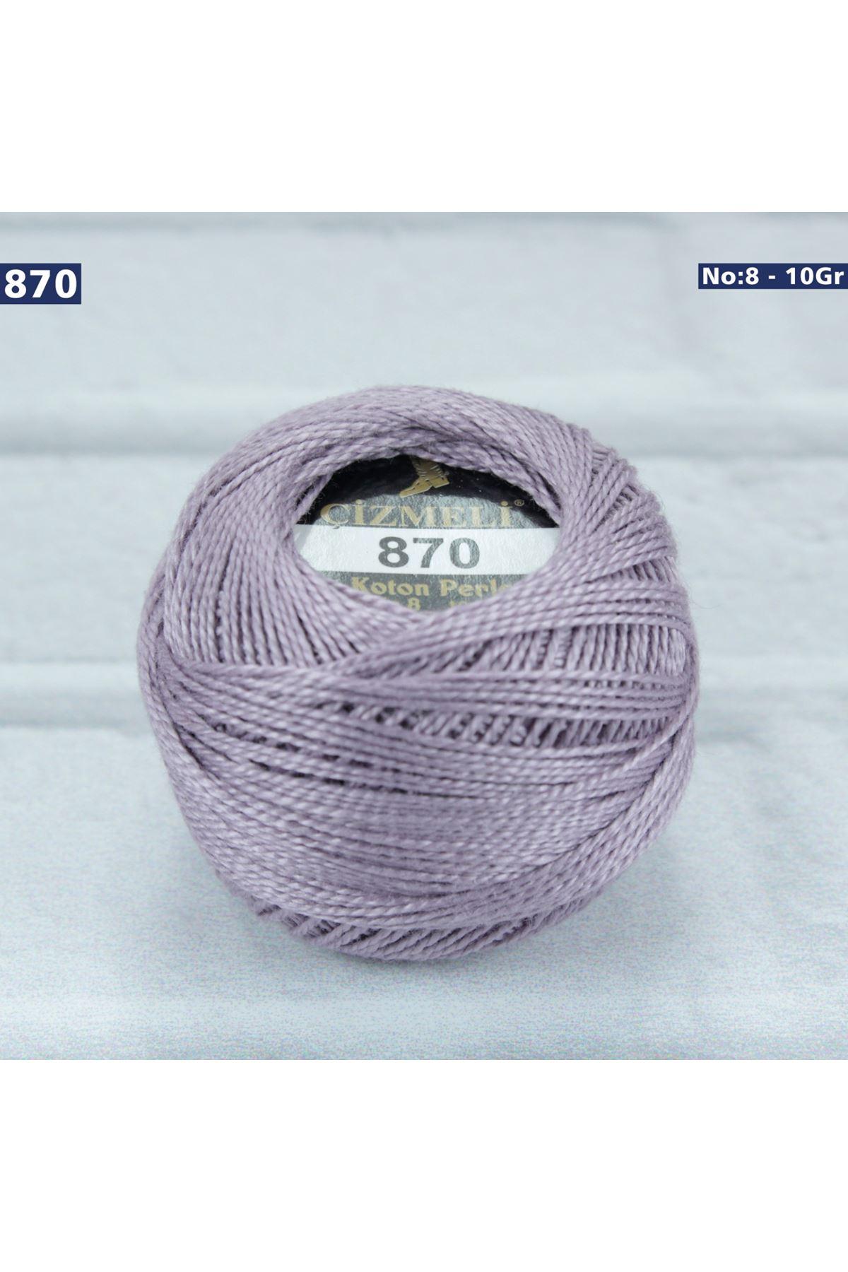Çizmeli Cotton Perle Nakış İpliği No: 870