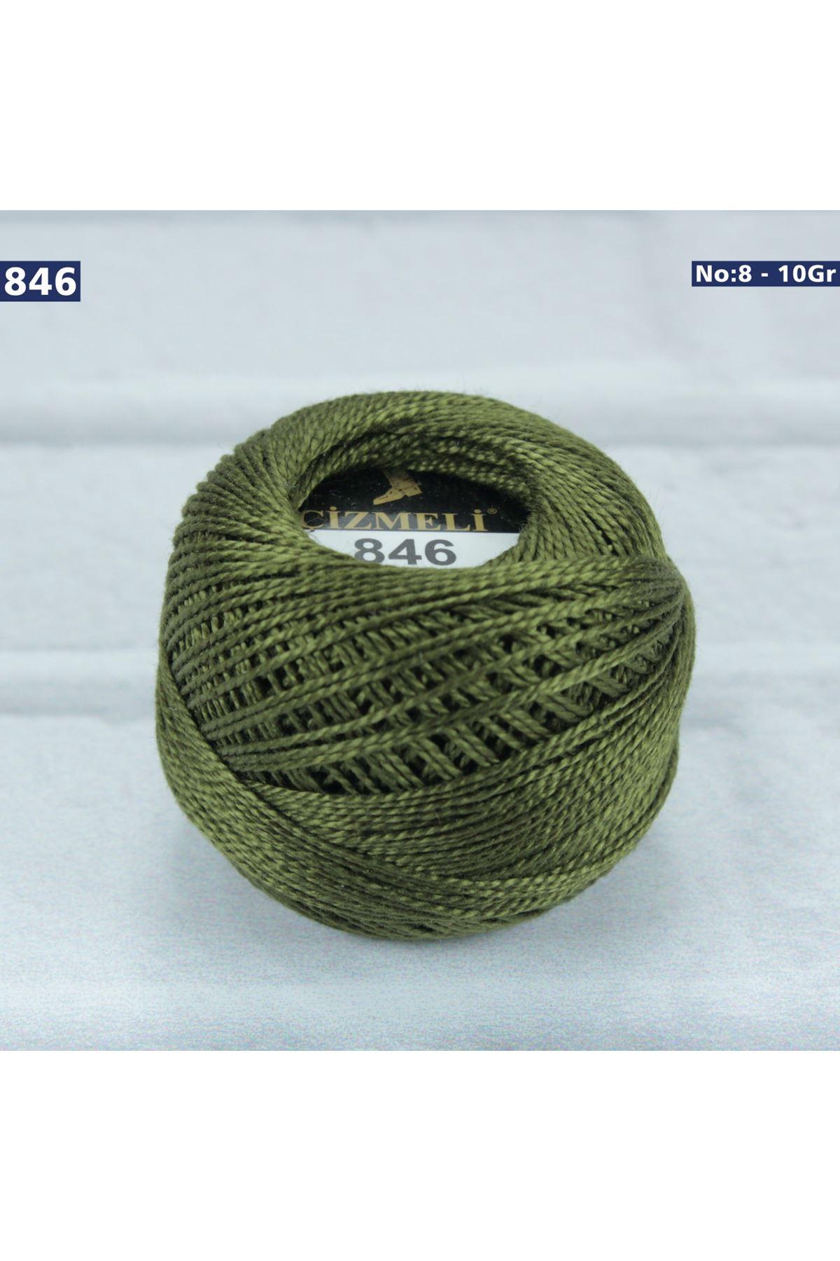 Çizmeli Cotton Perle Nakış İpliği No: 846