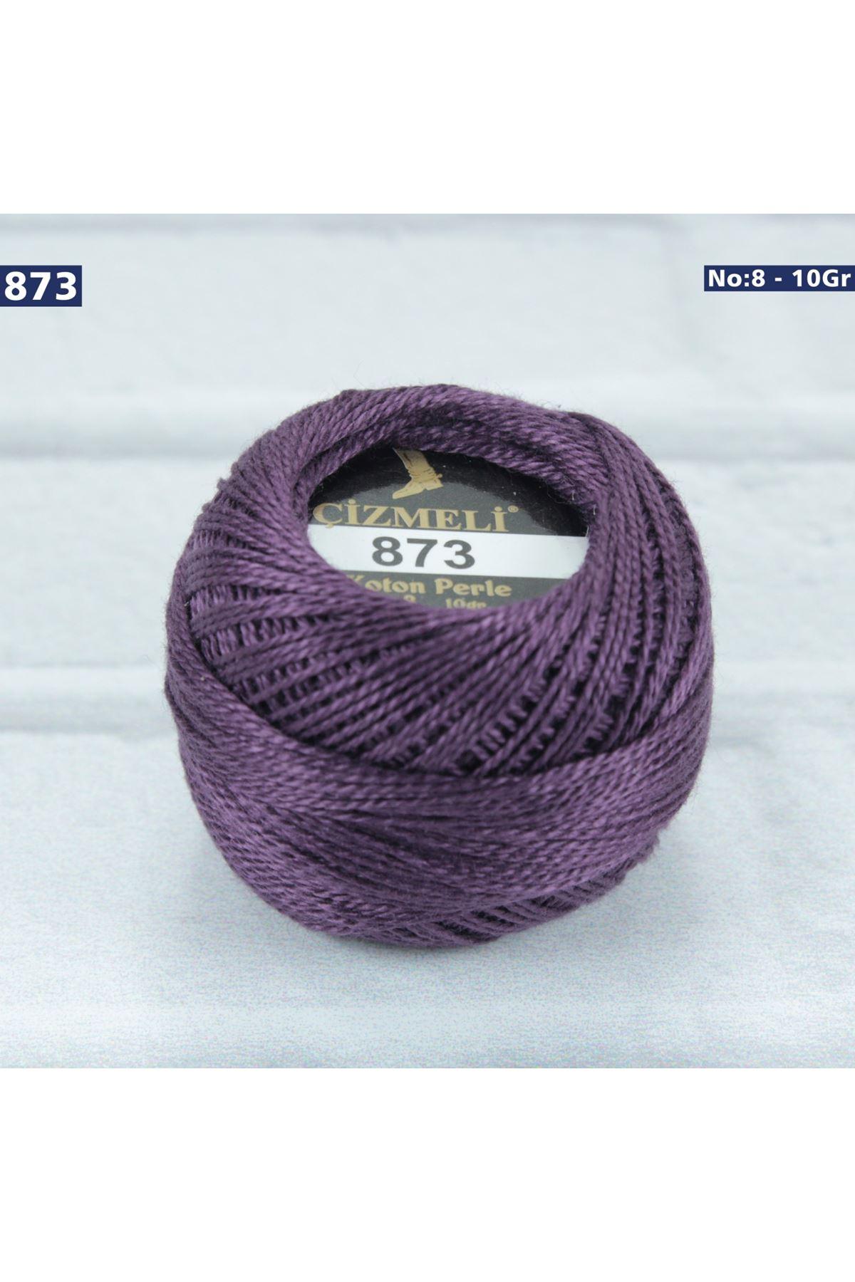 Çizmeli Cotton Perle Nakış İpliği No: 873