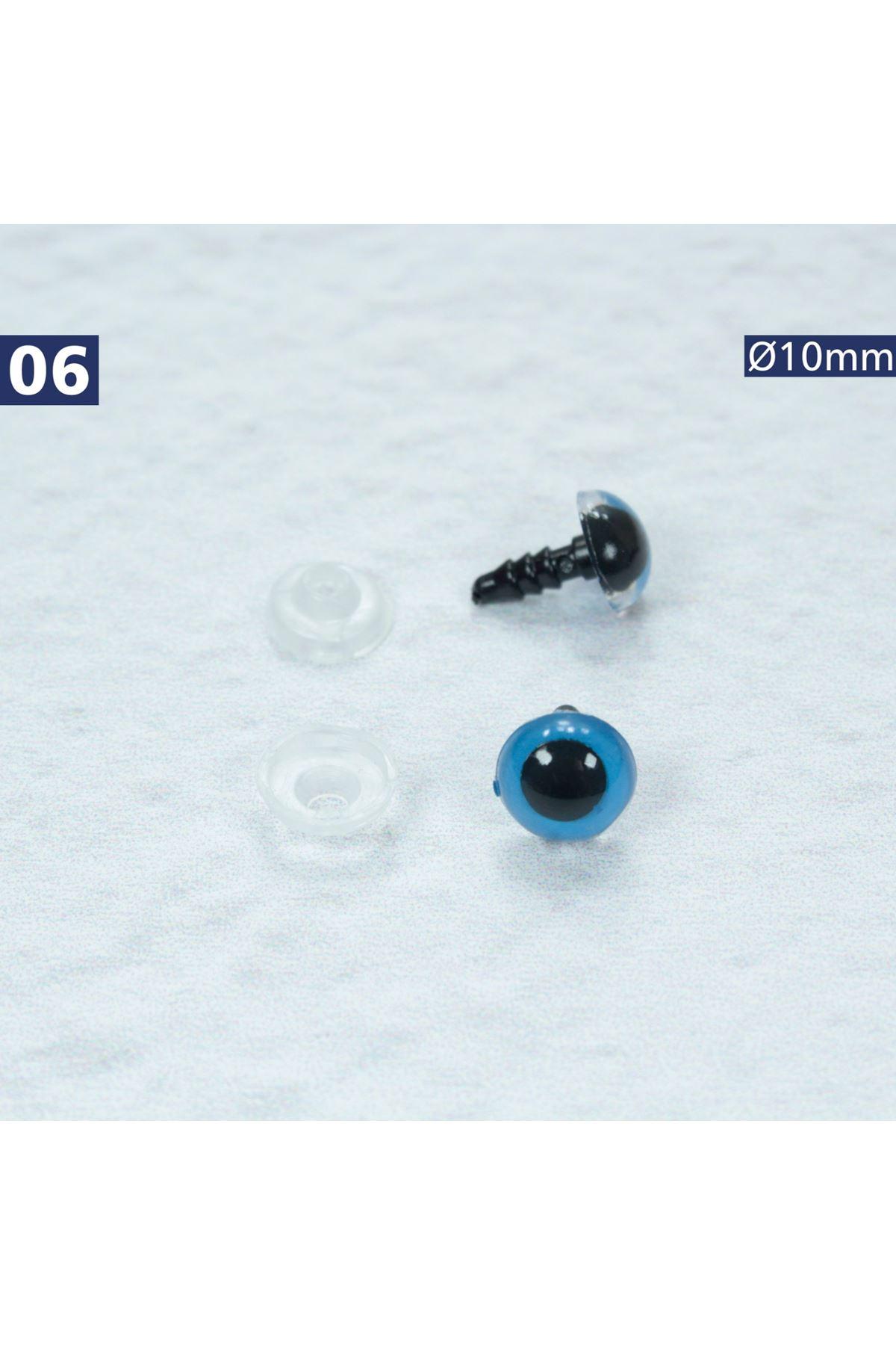 Vidalı Göz 10 mm - 6