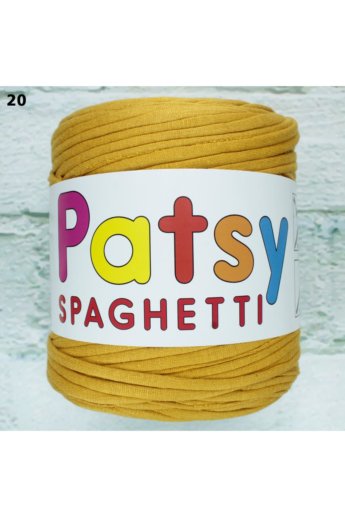 Patsy Spagetti Penye İp 20