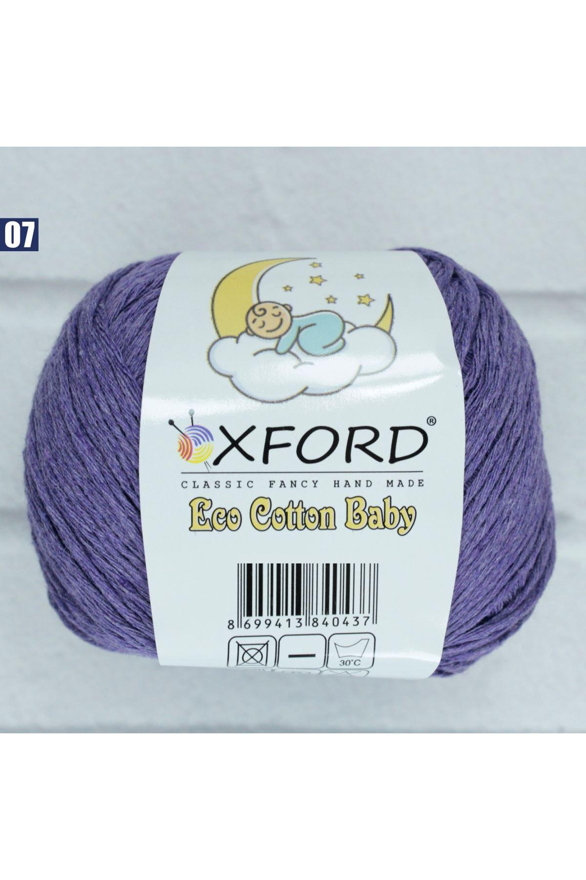 Oxford Eco Cotton Baby 7