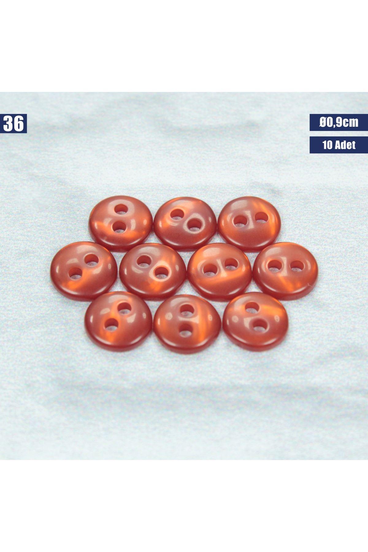 Amigurumi Düğmesi Ø 0,9cm - 36