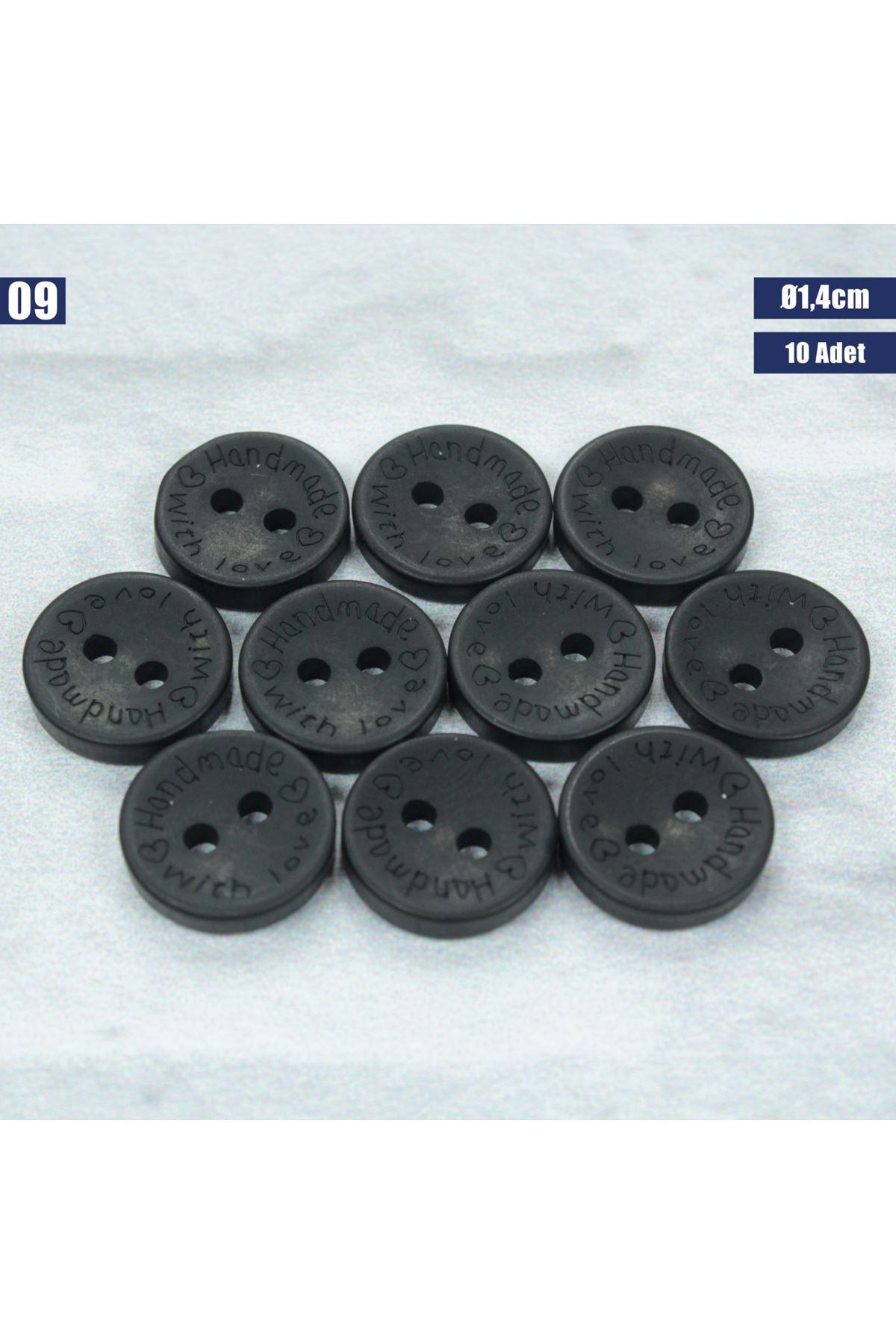 Amigurumi Düğmesi Ø 1,4cm - 09