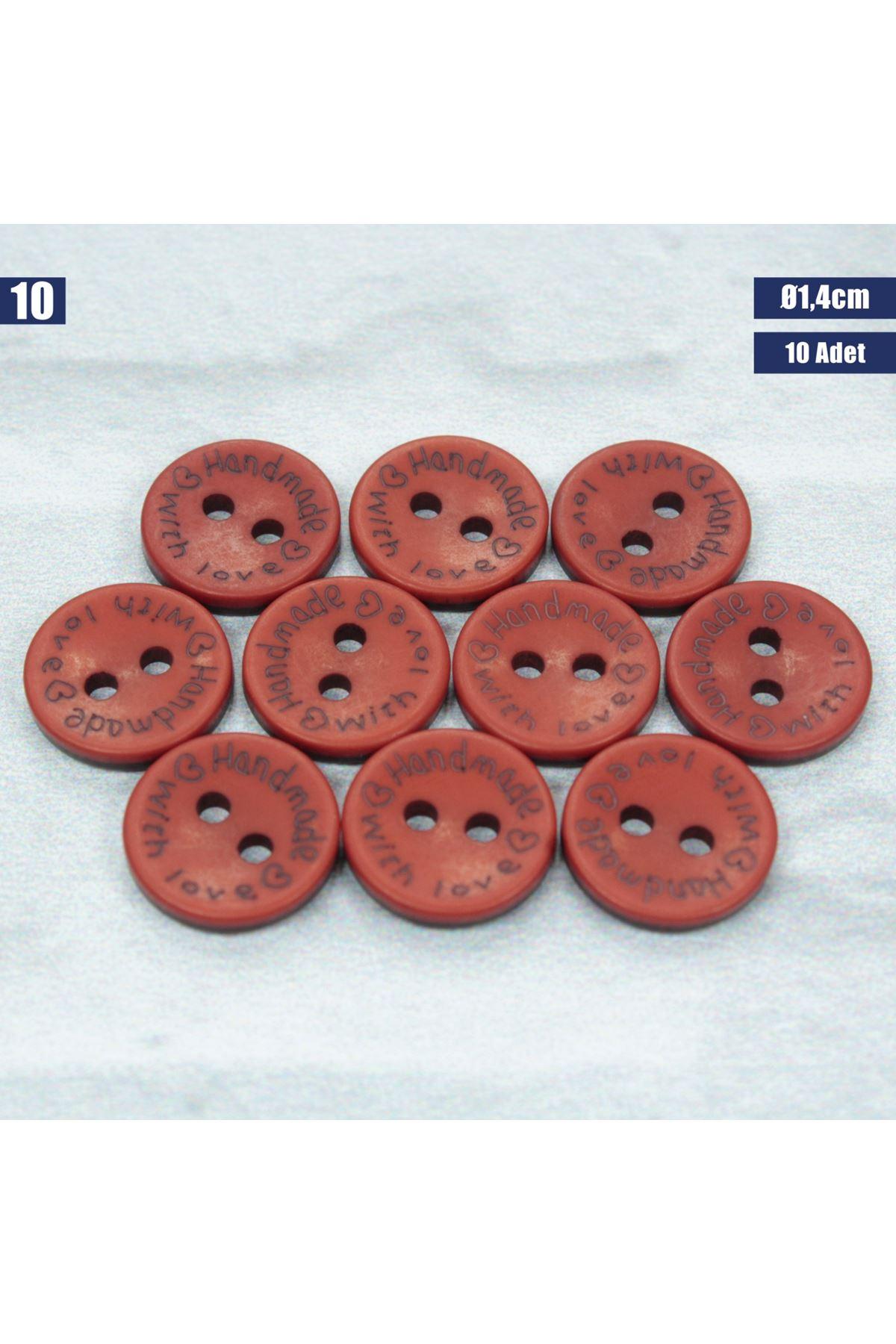 Amigurumi Düğmesi Ø 1,4cm - 10