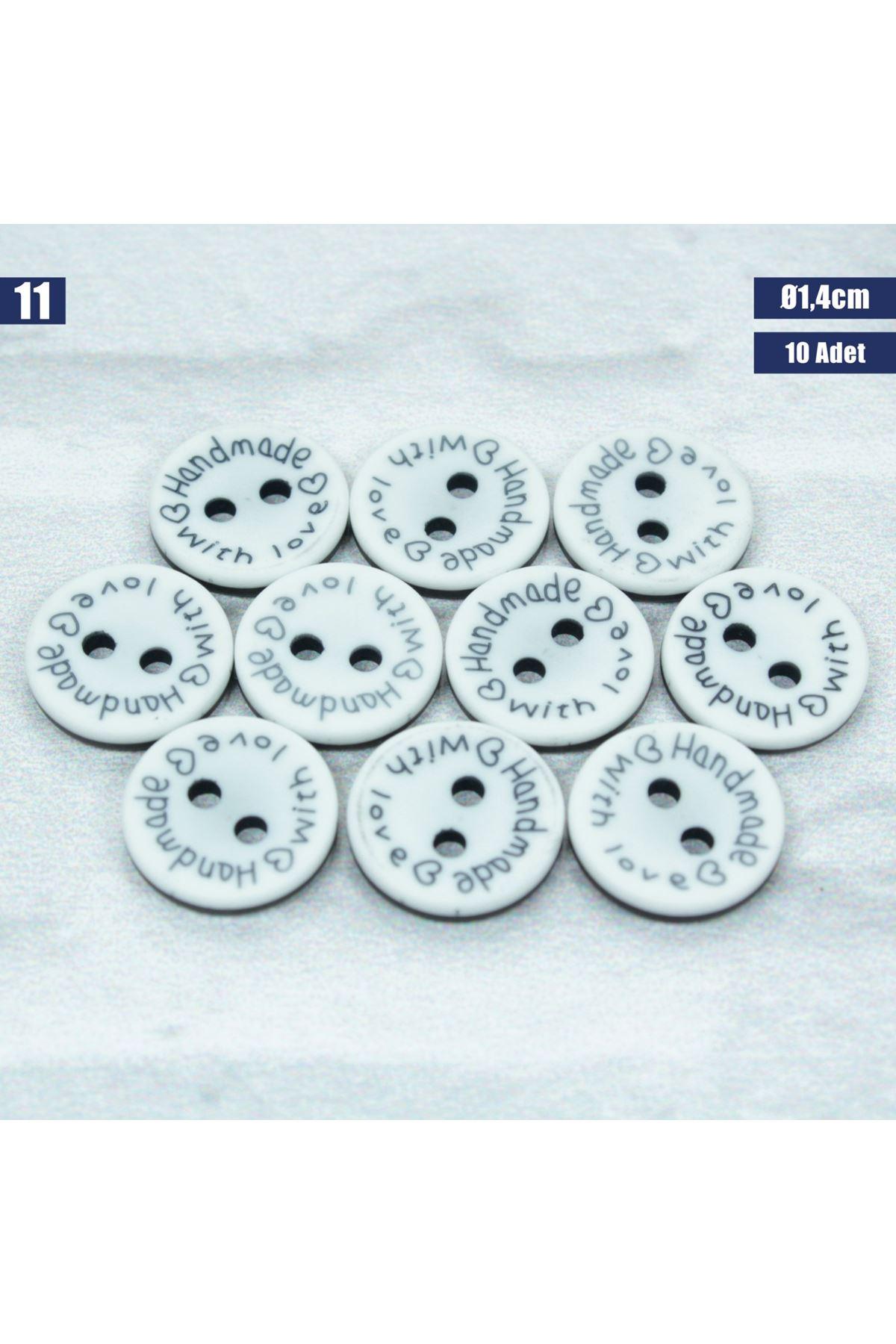 Amigurumi Düğmesi Ø 1,4cm - 11