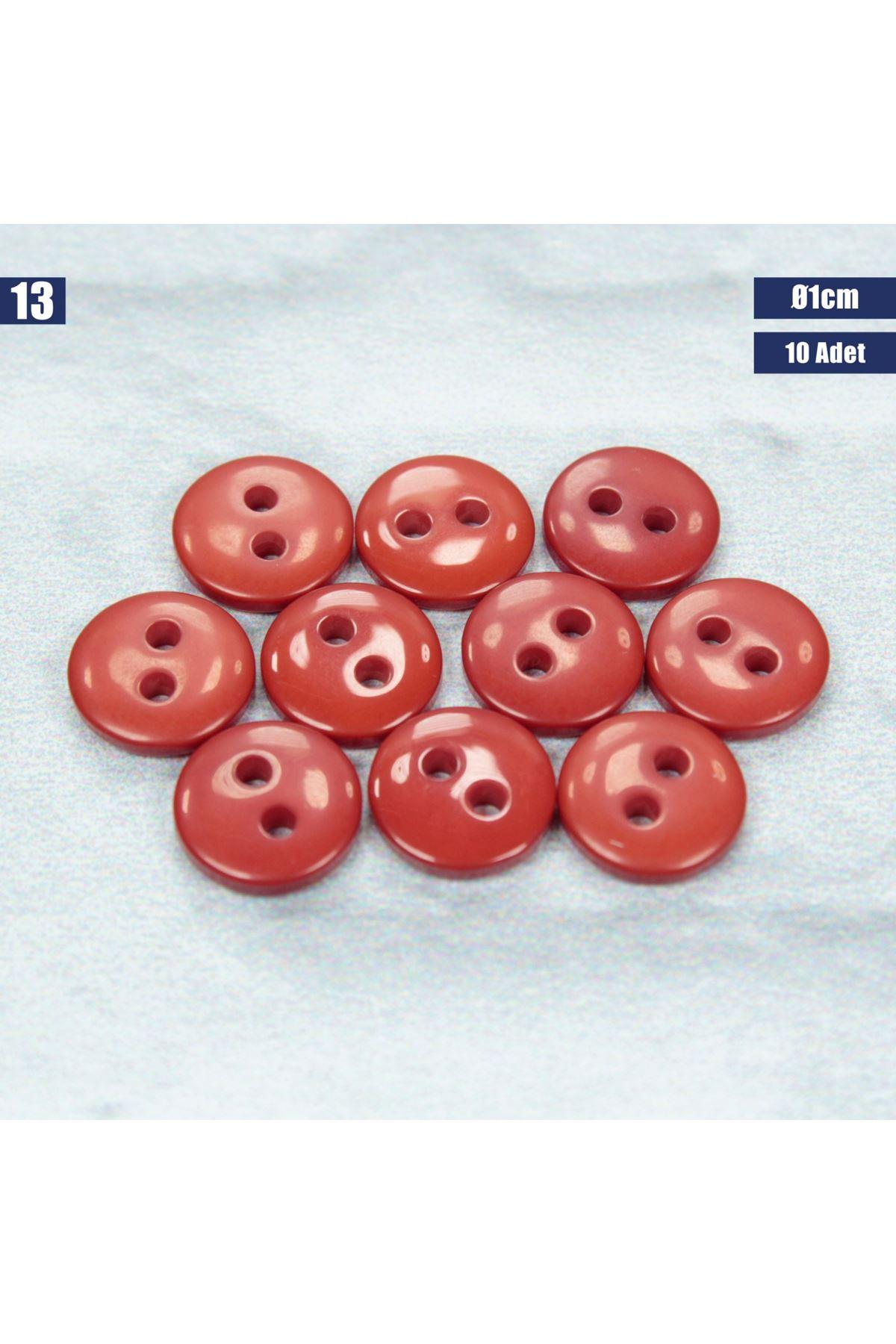 Amigurumi Düğmesi Ø 1cm - 13