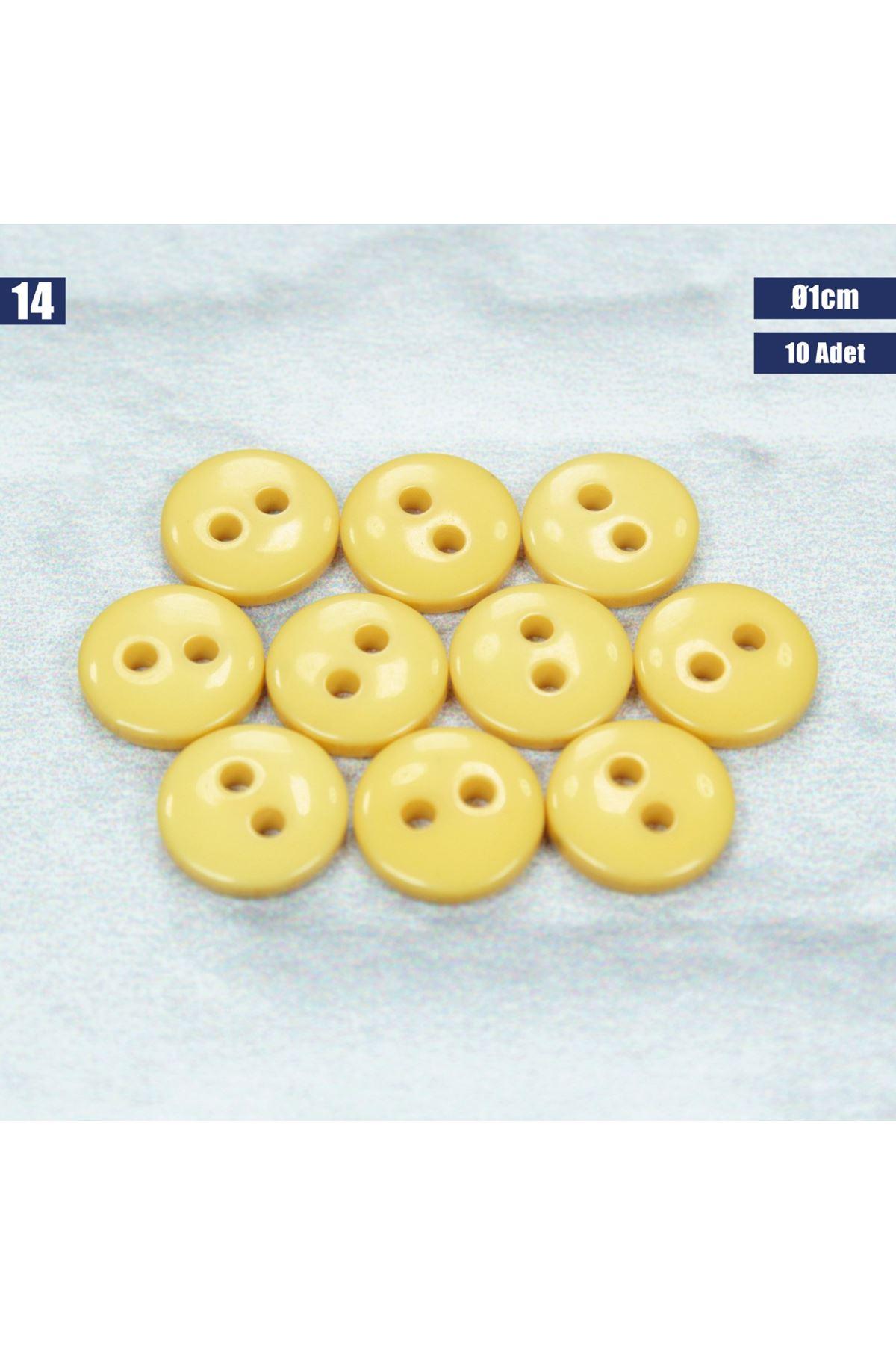 Amigurumi Düğmesi Ø 1cm - 14