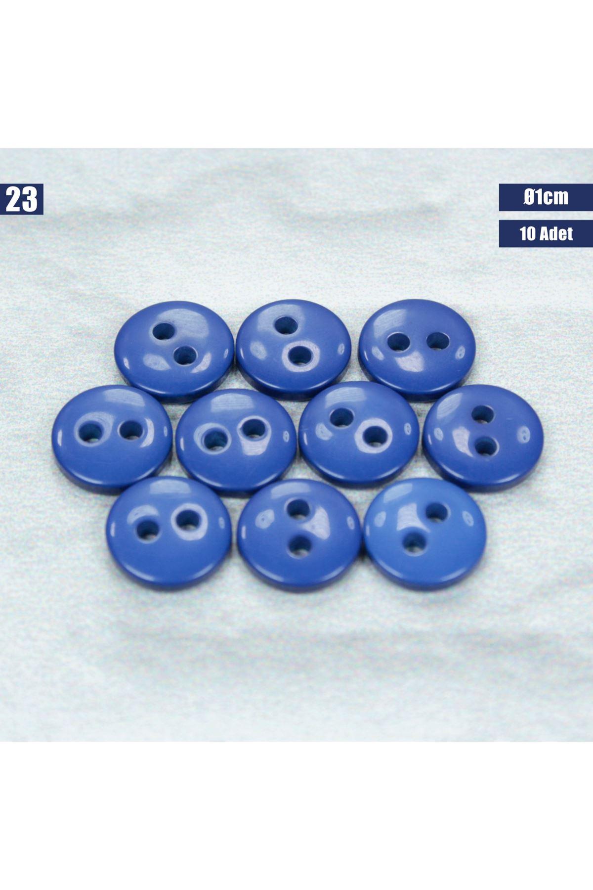 Amigurumi Düğmesi Ø 1cm - 23