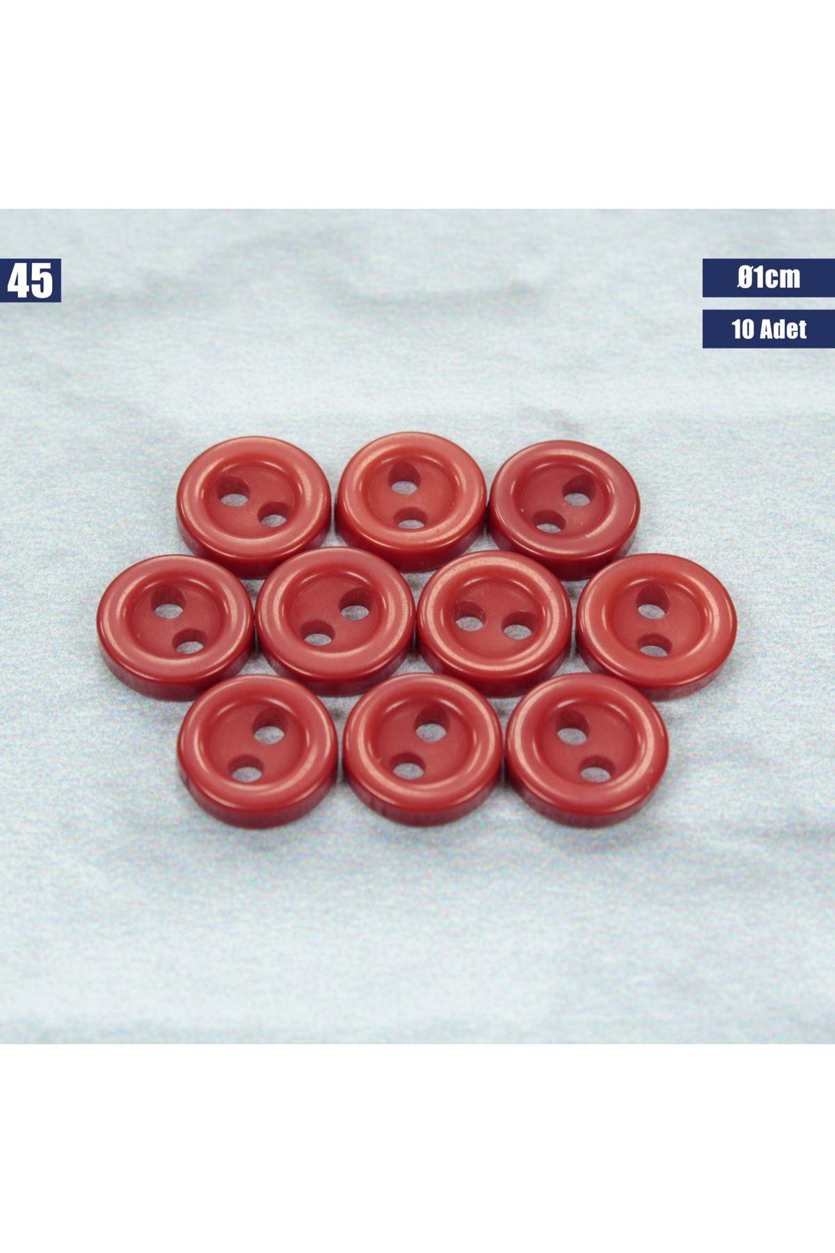 Amigurumi Düğmesi Ø 1cm - 45