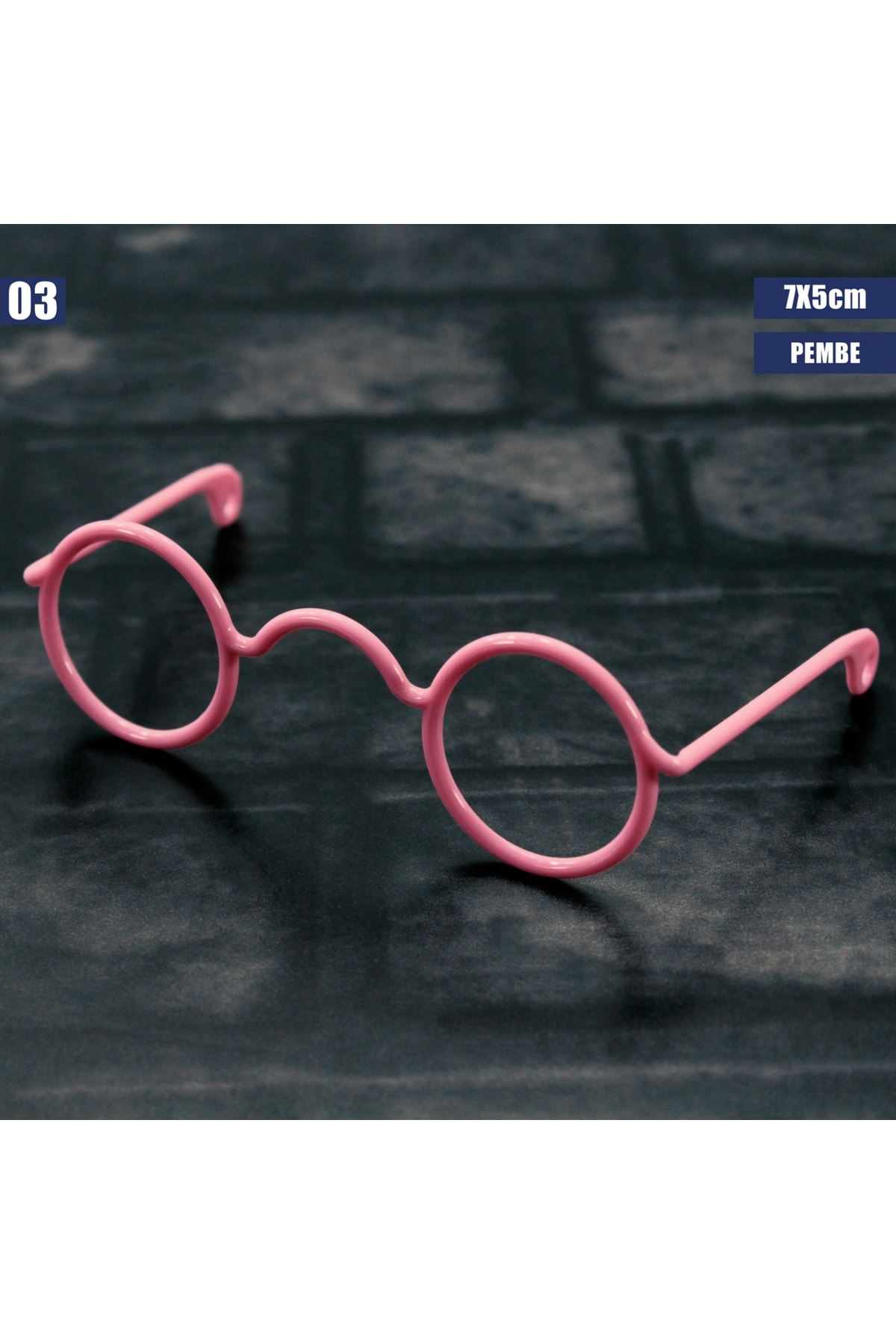 Amigurumi Gözlüğü 03