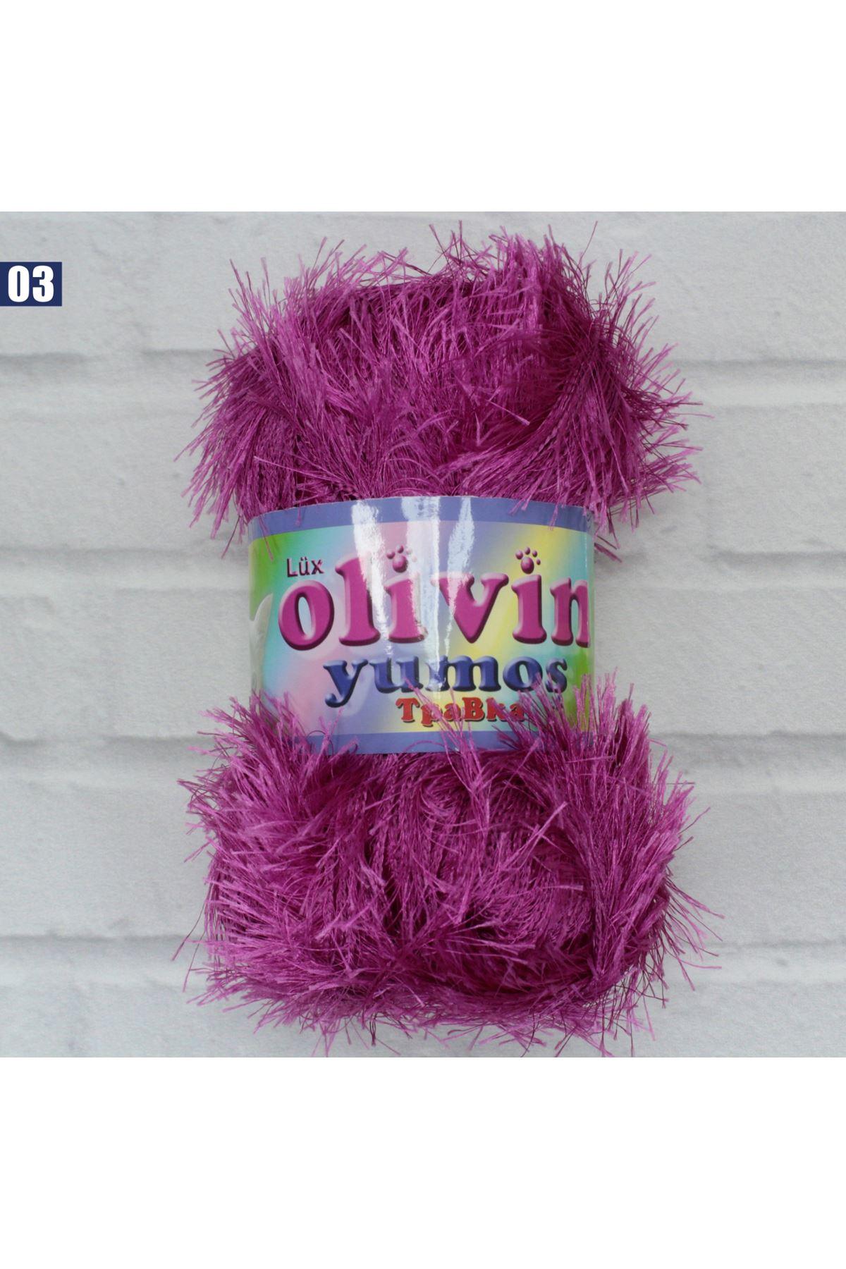 Olivin Yumoş Sakallı İp 03