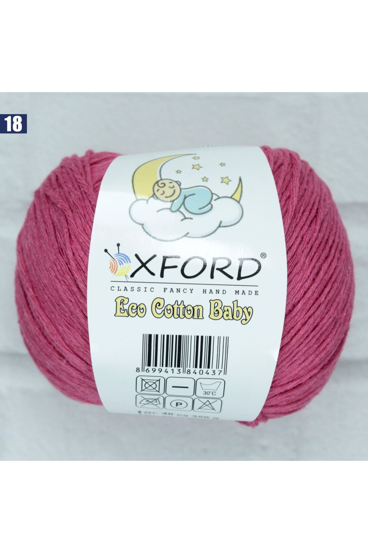 Oxford Eco Cotton Baby 18