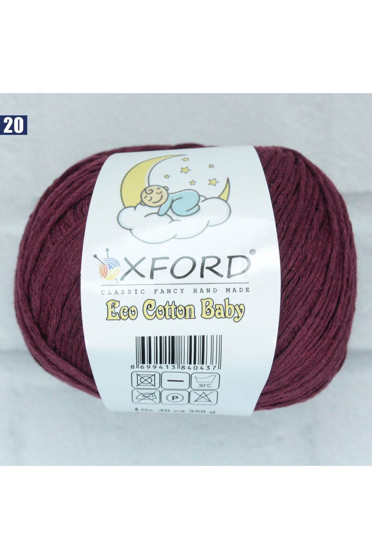 Oxford Eco Cotton Baby 20