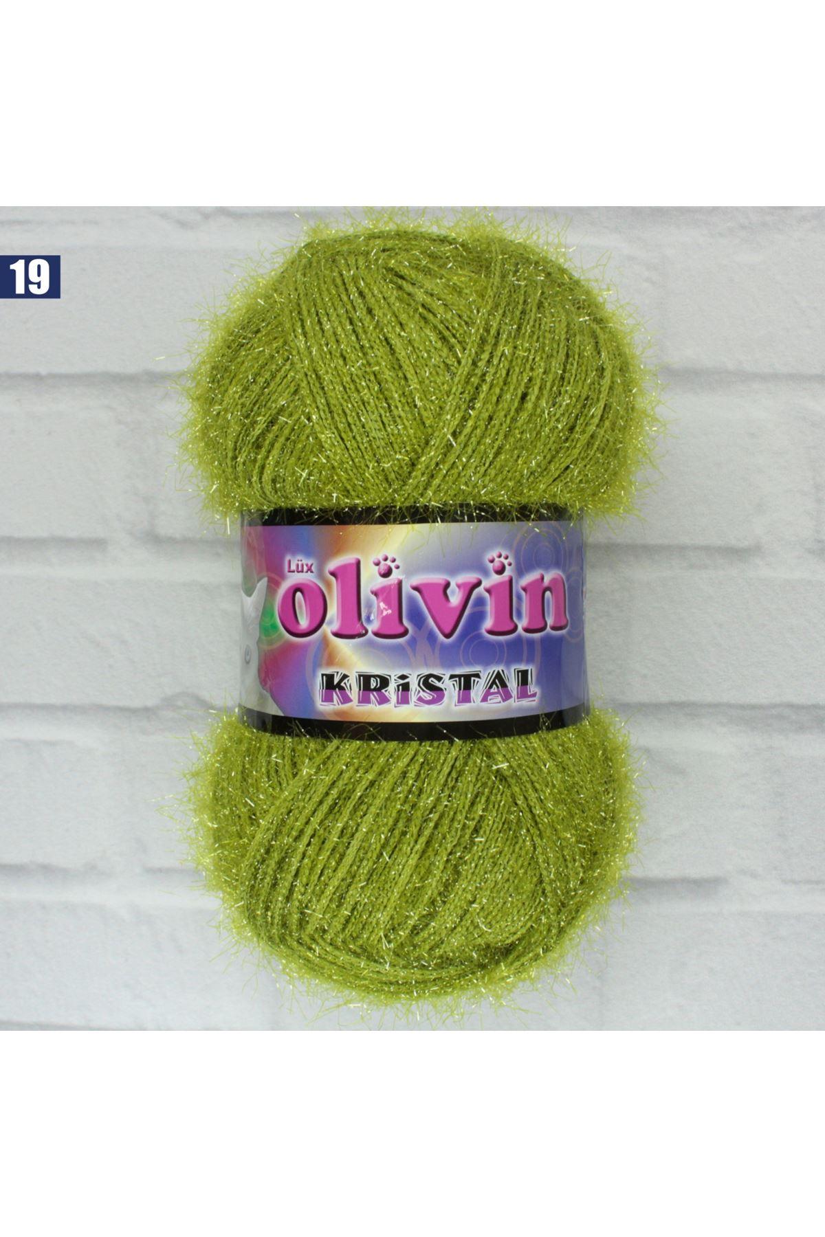 Olivin Simli Kristal  - 19