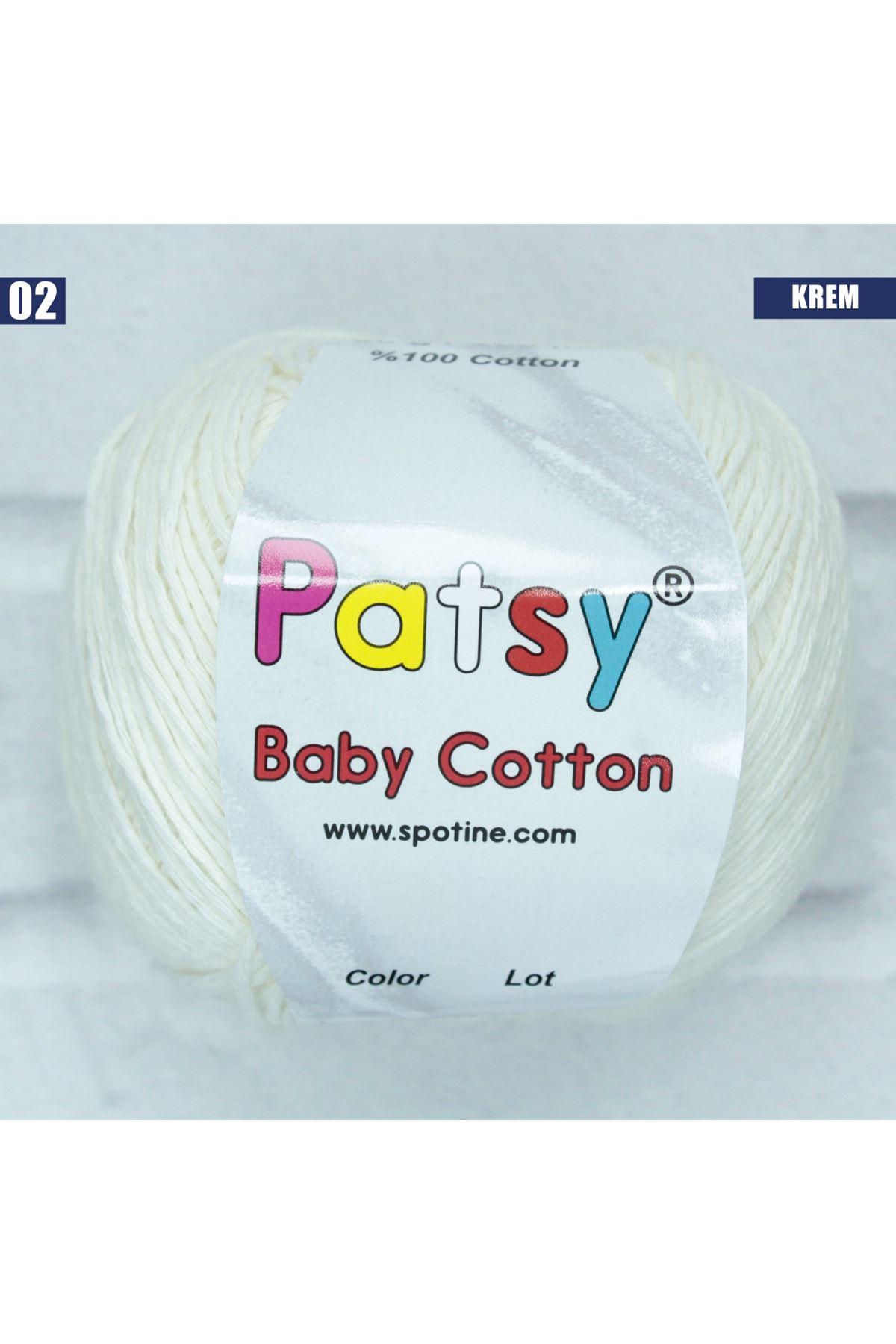 Patsy Baby Cotton 02 Krem