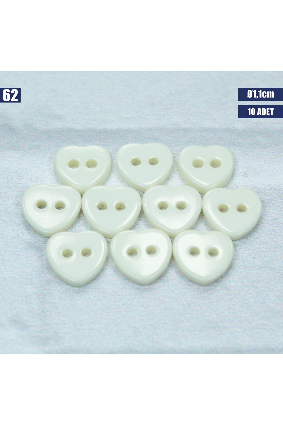 Amigurumi Düğmesi Ø 1,1cm - 62