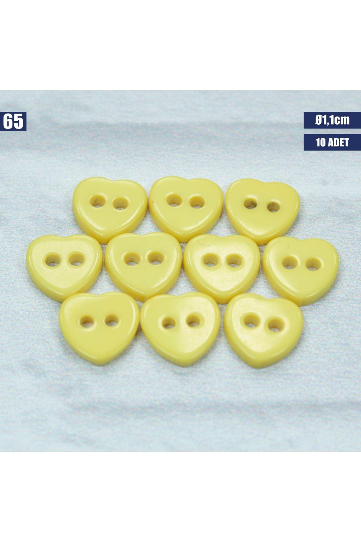 Amigurumi Düğmesi Ø 1,1cm - 65