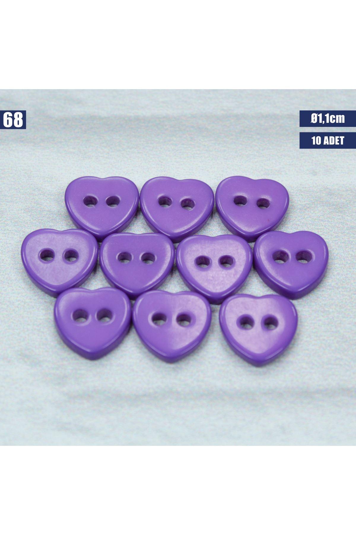 Amigurumi Düğmesi Ø 1,1cm - 68