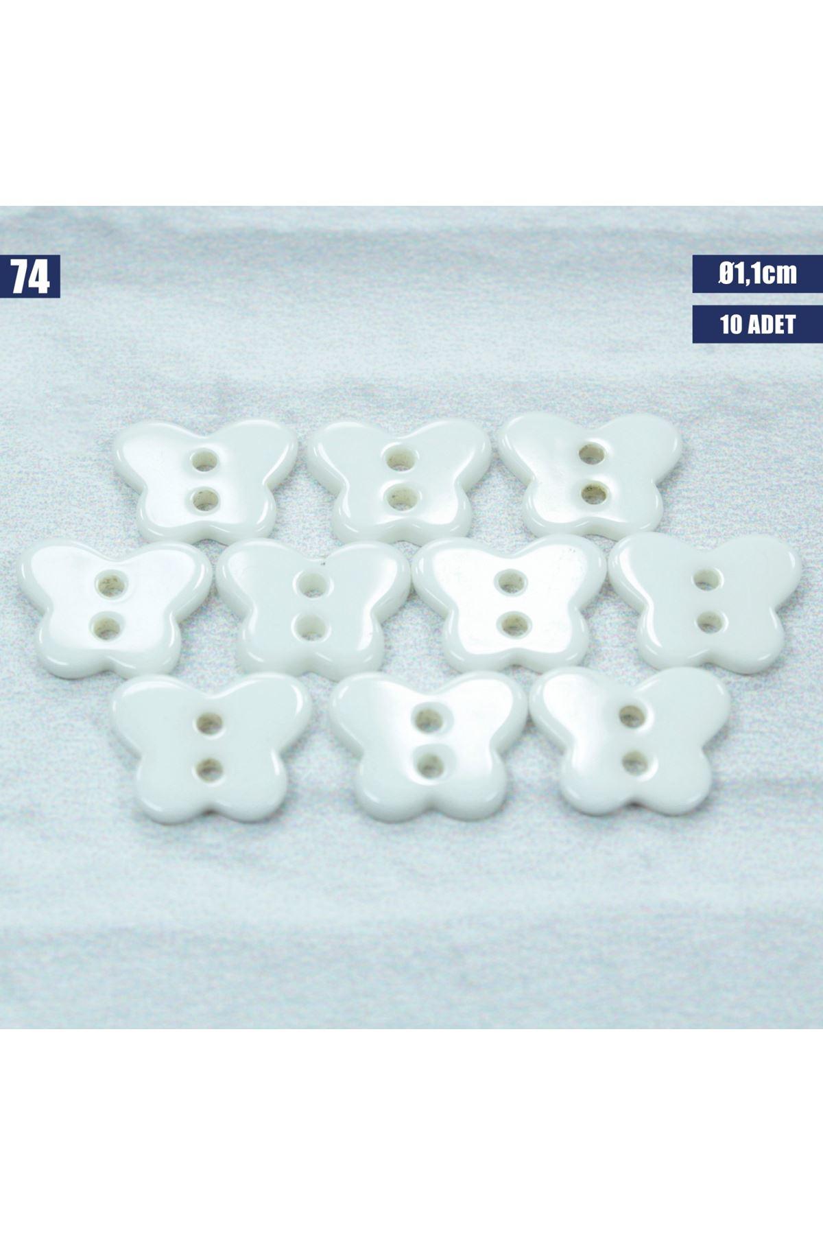 Amigurumi Düğmesi Ø 1,1cm - 74