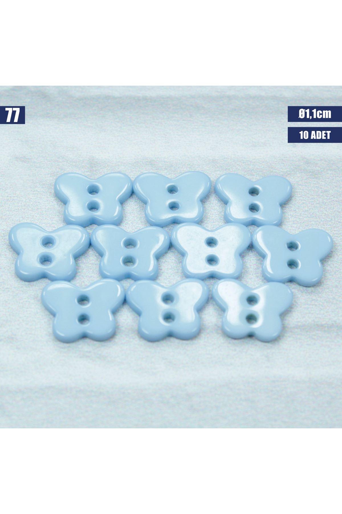 Amigurumi Düğmesi Ø 1,1cm - 77