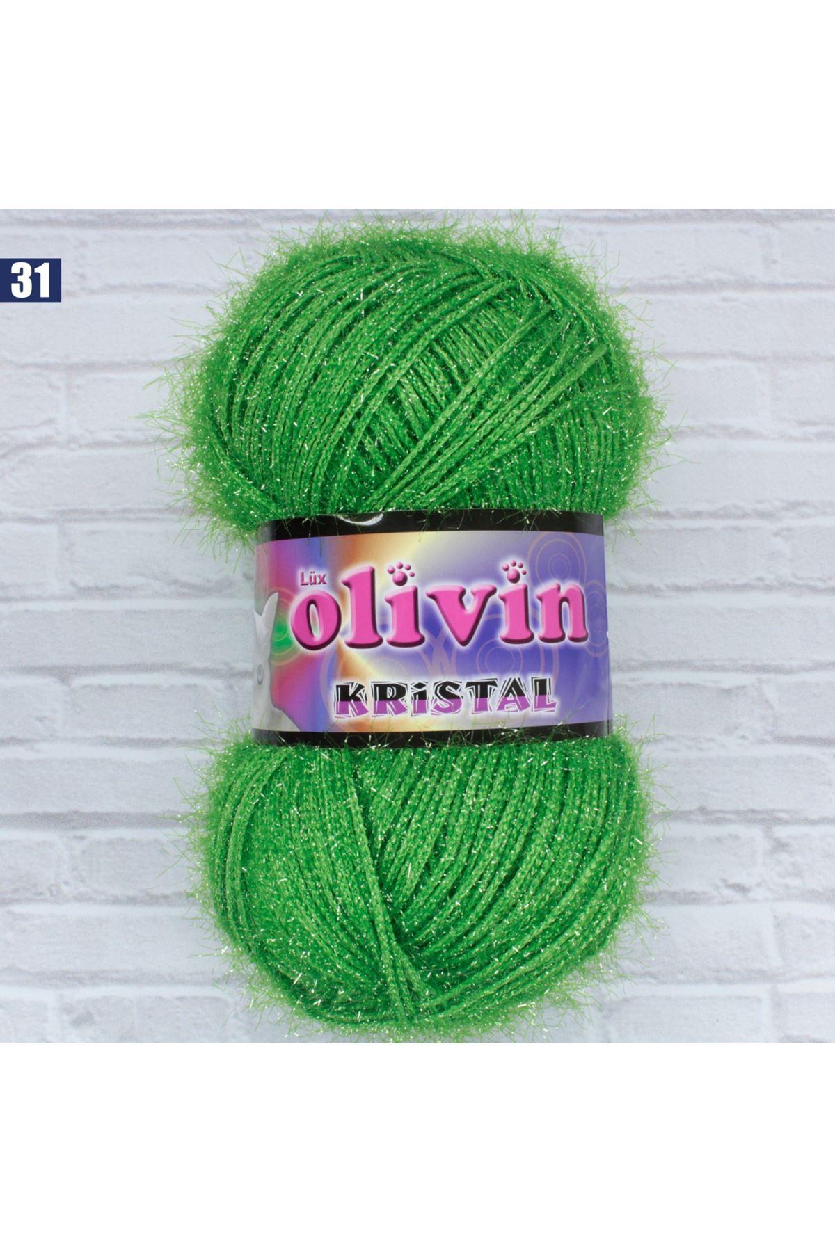 Olivin Simli Kristal  - 31