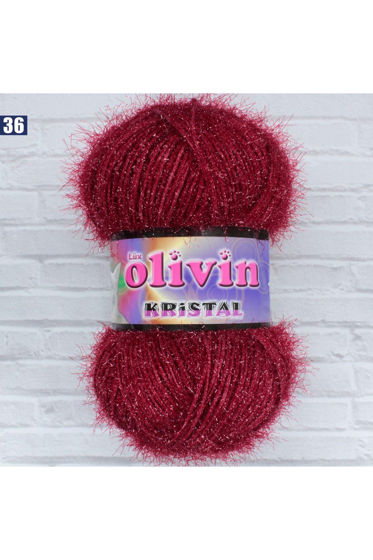 Olivin Simli Kristal  - 36
