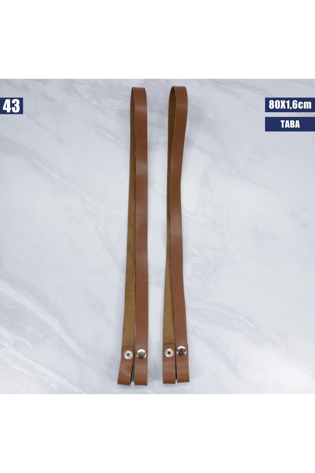 Deri Çıtçıtlı Çanta Sapı - 43