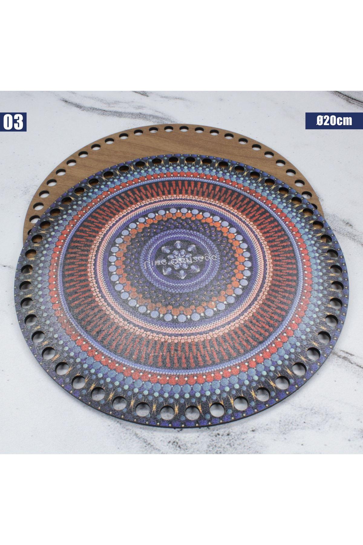 Ahşap Çanta Plakası - 03