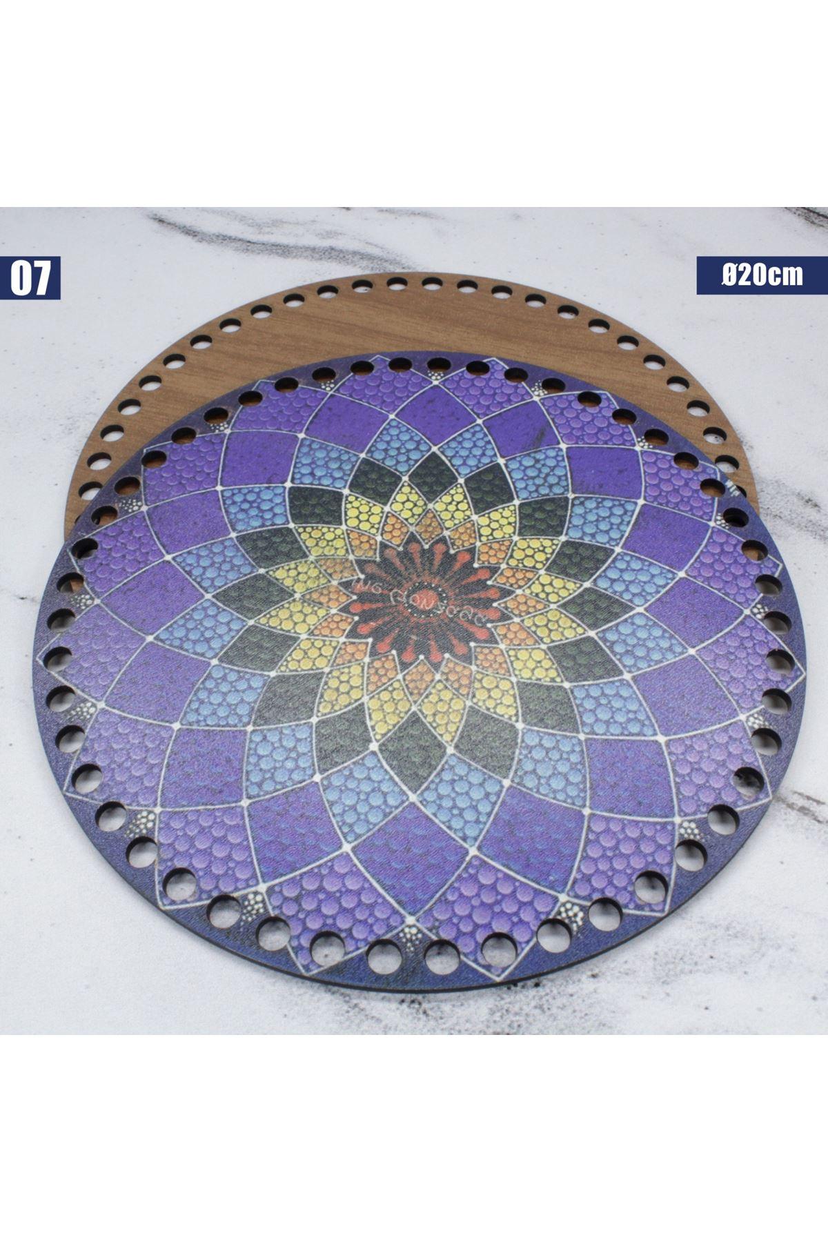 Ahşap Çanta Plakası - 07
