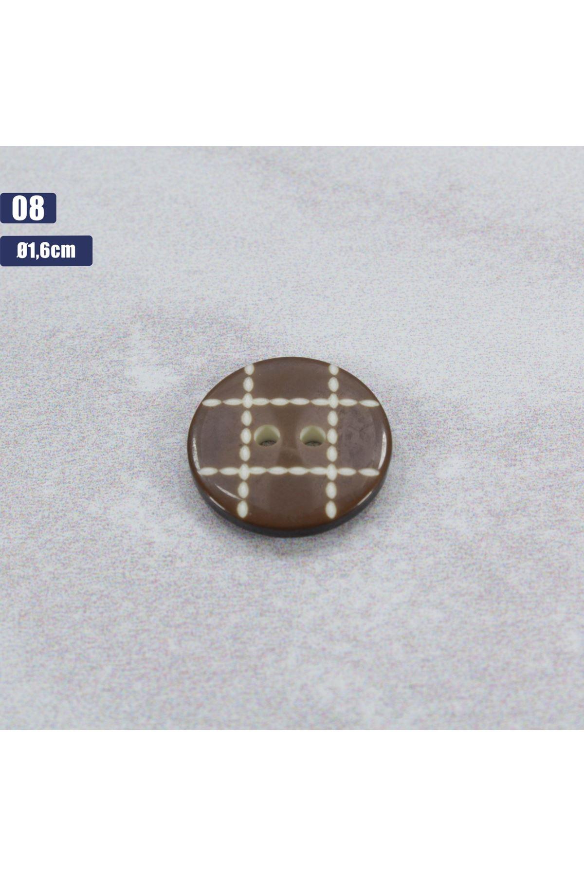 Düğme 1 Adet - 08