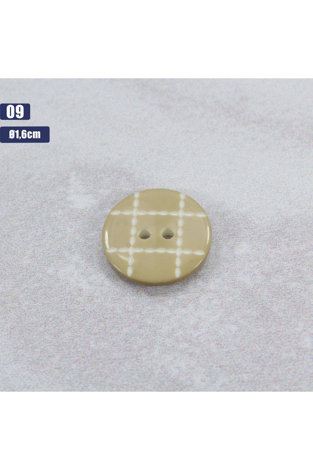Düğme 1 Adet - 09