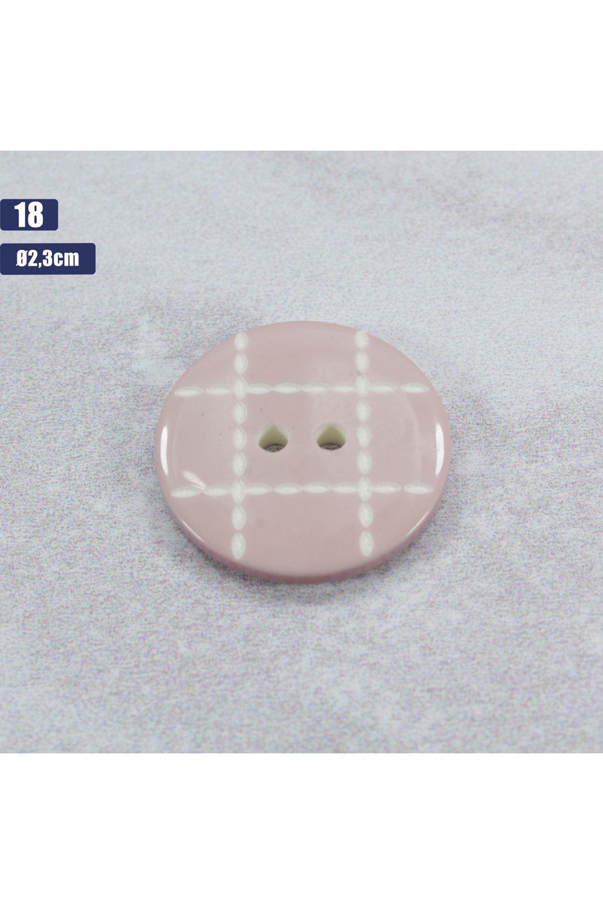 Düğme 1 Adet - 18
